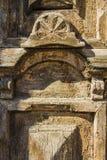 Closeup of ancient doors Stock Images