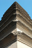 Closeup of an ancient pagoda Stock Image