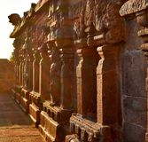 Closeup of Ancient Temple In India royalty free stock images