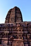 Closeup of Ancient Temple In India royalty free stock photos
