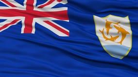 Closeup Anguilla Flag Royalty Free Stock Image