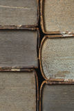 Closeup of antique books Stock Photos