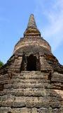 Closeup approach Historical Pagoda Wat Nang phaya temple Stock Images