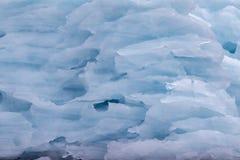 Closeup of an arctic Iceberg Royalty Free Stock Photo