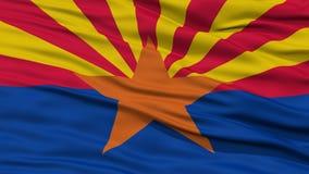 Closeup Arizona Flag, USA state Royalty Free Stock Images