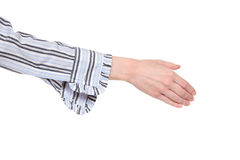 Closeup of arm - handshake Stock Photos