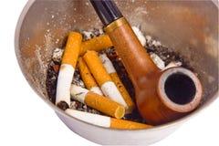Closeup on ashtray Royalty Free Stock Photography