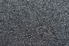Closeup of an asphalt road textured gray background stock photography