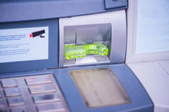 Closeup on ATM Stock Images