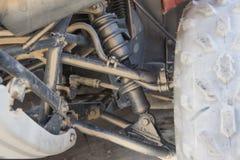 Closeup of ATV chassis suspension Stock Image
