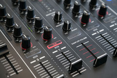 Sampler volume controls Stock Image