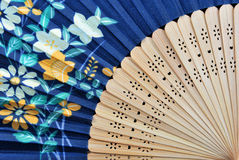 Closeup of an authentic fan. Closeup of an authentic Japanese fan Stock Photos