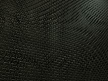 Closeup of auto radiator grille texture. Closeup of auto engine radiator grille industial background or texture. Metallic black Aluminium Material and Stock Photography