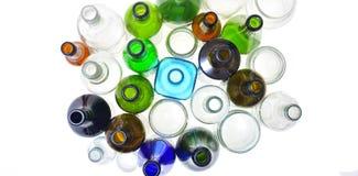 Closeup av återanvändning av exponeringsglas royaltyfri bild