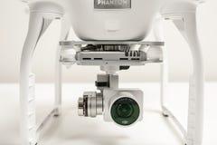 Closeup av avancerad surrquadrocopterDji fantom 3 Royaltyfria Foton