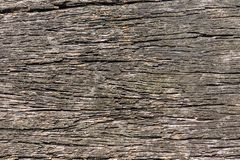 Closeup av den gamla träplankan arkivbild