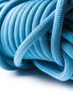 Closeup av det blåa repet Royaltyfri Foto