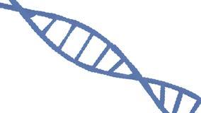Closeup av DNA:t Royaltyfria Foton