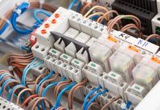 Elektriska tillförsel Arkivfoto