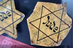 Closeup av ett judiskt emblem arkivfoton