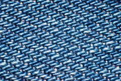 Closeup av grov bomullstvill Arkivfoto