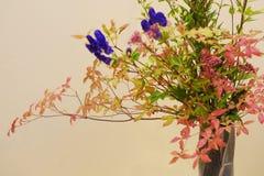 Closeup av Ikebana arkivbild