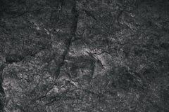 Closeup av mörker texturerad bakgrund Grå grov textur och bakgrund för design Svart abstrakt bakgrund som göras med stenen Royaltyfri Fotografi