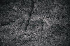 Closeup av mörker texturerad bakgrund Grå grov textur och bakgrund för design Svart abstrakt bakgrund som göras med stenen Royaltyfria Foton