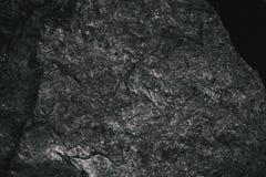 Closeup av mörker texturerad bakgrund Grå grov textur och bakgrund för design Svart abstrakt bakgrund som göras med stenen Royaltyfri Bild