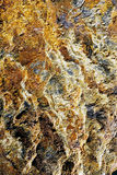 Closeup av mineral Arkivbilder