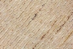 Closeup av naturlig linnetextur Royaltyfri Bild