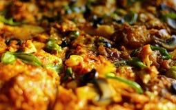 Closeup av pizza Arkivbilder