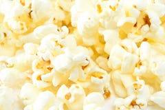 Closeup av popcorn Royaltyfri Fotografi
