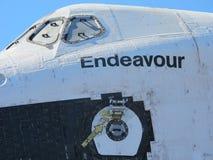 Closeup av rymdfärjasträvan royaltyfri foto