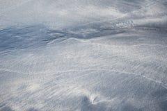 Closeup av sandmodellen av en strand Arkivbild