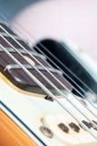 Closeup av uppsamlingen för elektrisk gitarr för tappning Royaltyfria Bilder