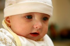 Closeup Baby Royalty Free Stock Images