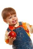 Closeup baby boy portrait Royalty Free Stock Photo