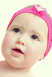 Closeup baby face Stock Images