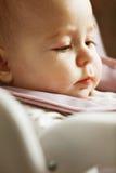 Closeup baby portrait Stock Photo