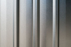 Closeup of background Detail of texture of aluminium wall Royalty Free Stock Images