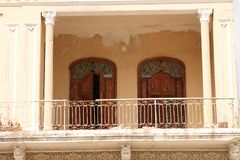 Closeup of balcony Royalty Free Stock Photo