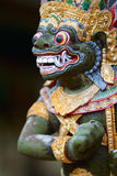 Closeup of Balinese God statue Stock Images