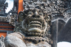 Closeup of Balinese God statue Royalty Free Stock Photo