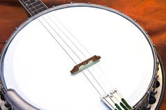 Closeup of Banjo Stock Photos