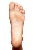 Closeup, bare foot, sole Stock Images