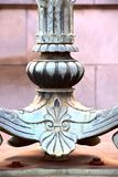 Base of an art deco lamp stand. royalty free stock image