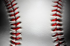 Closeup of an baseball Stock Images