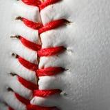 Closeup of an baseball Royalty Free Stock Photo