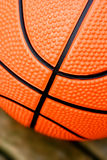 Closeup of basketball Stock Image